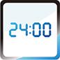 Affichage de l'horloge