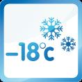 Climatisation jusqu'à -18°