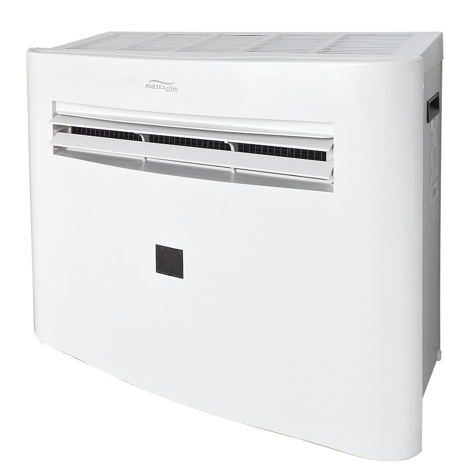 Pompe chaleur monobloc r versible double flux sans - Pompe a chaleur monobloc interieur ...